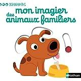 Mon imagier des animaux familiers - livre animé Kididoc - dès 1 an