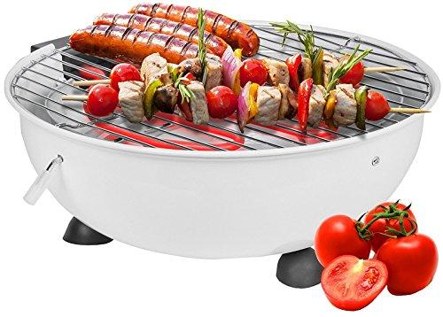 Elektrische tafel barbecue wit (DSS-DS03023-WIT)