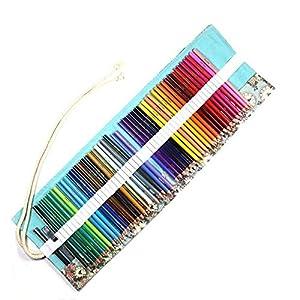 lapiceros SFBBBO 48/72 colores juego de bolígrafos soluble en agua lápiz aceitoso estudiante arte pintura de madera…