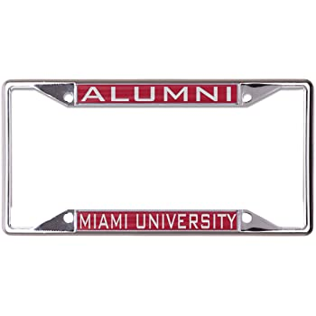 WinCraft NCAA Ohio State University Metal License Plate Frame