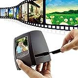 Film Scanner 5 Megapixel High Resolution Slide Converts 35mm negatives slides and roll to JPEG Includes 2.4...