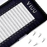 Volume Eyelash Extensions 3D C Curl Individual Mink Lashes 0.15 Natural Pre-made Fans Eyelash Supplies (3D-0.15C-11mm)