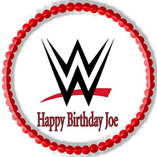 WWE - Edible Cake Topper - 7.5' round