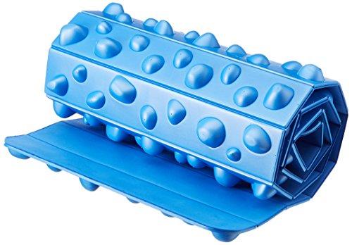 Yogistar Fuß Massage Board-rollbar, Tavola massaggiante per Piedi, Arrotolabile. Unisex-Adulto, Blu, M