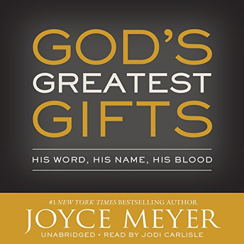 God's Greatest Gifts audiobook cover art