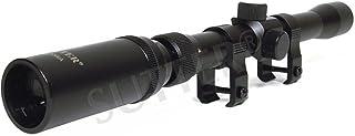 SUTTER - Mira telescópica (3-7 x 20, Incluye Montaje de 11 mm, para calibres pequeños, Rifle de Aire y Airsoft, Modelo de 2018)