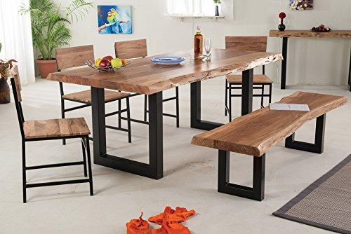 SEDEX BELLARY Esszimmertisch 180/90 cm Esstisch Tisch Holztisch Küchentisch Massivholz Akazie im Landhausstil