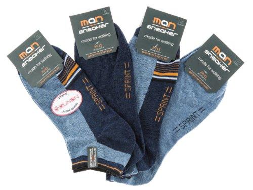 SOUNON 6 Paar XXL Herren Socken Gr. 47-52 (70014B)