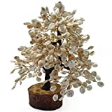 Gomati Chakra Tree with 500 BEADS. For Health,Wealth,Good Luck,Good Fortune & Prosperity. Decorative Items for House - As per ancient scriptures, every household must keep Gomati Chakras at home that WILL GET YOU CONSTANT BLESSINGS of LORD VISHNU and...