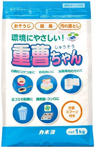 カネヨ石鹸 マルチクリーナー 重曹ちゃん 粉末 1kg 計量スプーン付