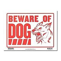 サインプレート Sサイズ 猛犬注意【BEWARE OF DOG】Sign Plate 看板 ガレージ インテリア アメリカン雑貨