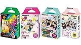 Fujifilm InstaX Mini Instant Film Rainbow & Staind Glass & Candy Pop &...
