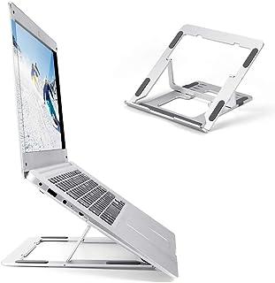 ABEDOE Laptop Ständer verstellbar für den Schreibtisch, tragbarer, ergonomischer Laptop Ständer für 15 Zoll Laptop, Windows & Mac Geräte wie Dell, Toshiba, HP, Samsung, MacBook, Lenovo und mehr.