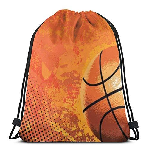 Rucksackbeutel mit Kordelzug & iexcl; & ecirc ;? Basketball3 Sport Gym String Storage Sackpack