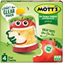 24-Pack Mott's 3.2 Ounce No Sugar Added Applesauce (Apple)