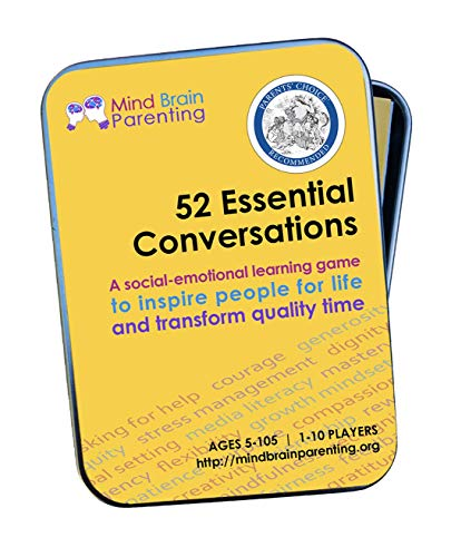 52 Essential Conversations: Life Skills Card Game | By HARVARD Educator for Building Positive Attitude & Behaviors, Social Skills, Emotional Awareness, Open Communication | for Family, Therapy, School