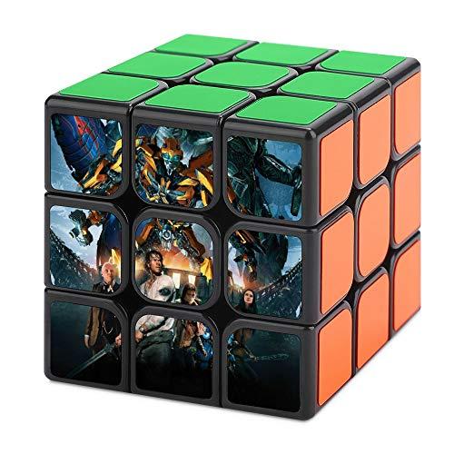uytrgh T-ransformer-s Tercer Orden Cubo Mágico Descompresión No Tóxico Suave Puzzle Nunca Fuera de Fecha Regalo