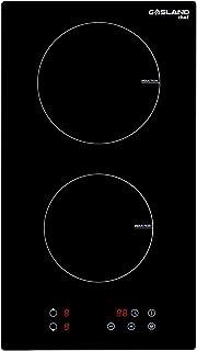Gasland Chef IH30BFN 30cm Plaque à Induction, Encastrable Table de Cuisson à induction 2 Foyers 3500W