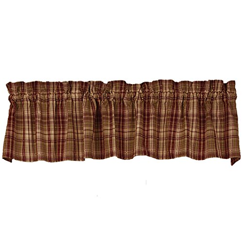 The Country House Collection Cotton Valance (72x14) (Harrington Valance)