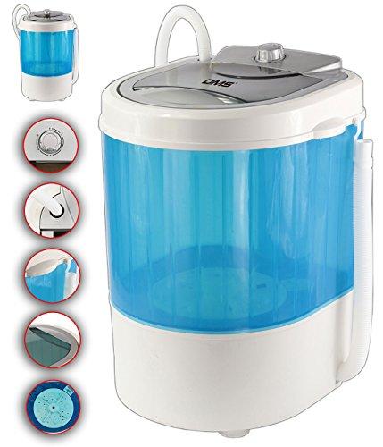 DMS Lavatrice da campeggio con centrifuga 3,5kg Mini-lavatrice CWM-260B