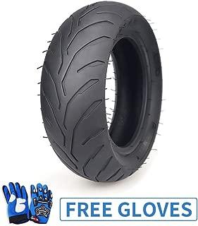 90/65-6.5 Front Tire and Inner Tube for 38 47 49CC Coolster Taotao Mini Pocket Pit Dirt Bike Scooter,Kids Blue Gloves