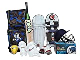 Available in various sizes for different age groups Batting gloves - palm made from cotton and PVC Complete Kit bag for all age includes all the gear that you need Premium PVC finger rolls and dual density foam finger rolls Sales Package: 1 Kashmir W...