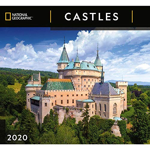 2020 Castles NG Wall Calendar, by Zebra Publishing