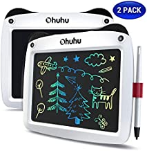 LCD Writing Tablet Colorful Screen, Ohuhu 2 Pack 9