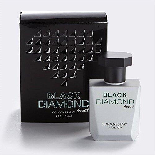 Men's Rue 21 Black Diamond Cologne Spray 1.7 Ounce New In Box