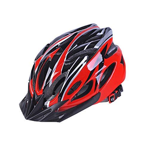 Gifftiy Fahrradhelm Faradhelm Männer Bike Helmet Ultralight Bicycle Helmets for Adult Female and Male Men Women Cycling Road Bike One Piece Riding Helmet for Men and Women-I