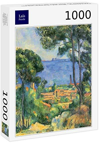 Lais Puzzle Paul Cézanne - Veduta dell'Estaque e degli Chateaux d'If (Il Mare dell'Estaque) 1000 Pezzi
