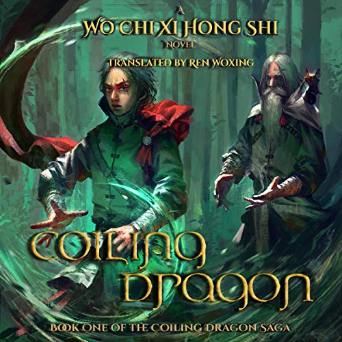 Coiling Dragon audiobook cover art