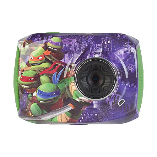 Teenage Mutant Ninja Turtles Action Camera with Accessories with 1.8-Inch LCD Screen, 78665