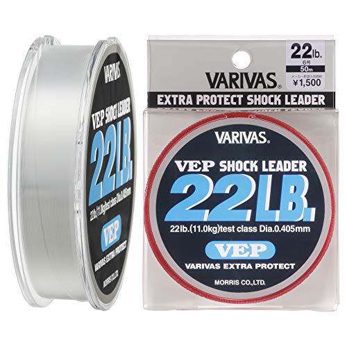 VARIVAS(バリバス)  ショックリーダー  VEP ナイロン 50m 6号 22lb ナチュラル