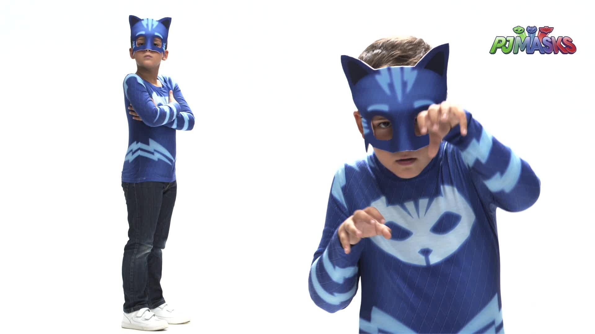 Viving Costumes Disfraz Catboy, Multicolor (231301)