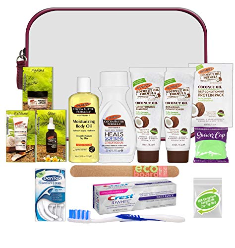 Convenience Kits International Women's 15 Pc Kit Featuring: Palmer's Hair, Face & Body Travel-size Products