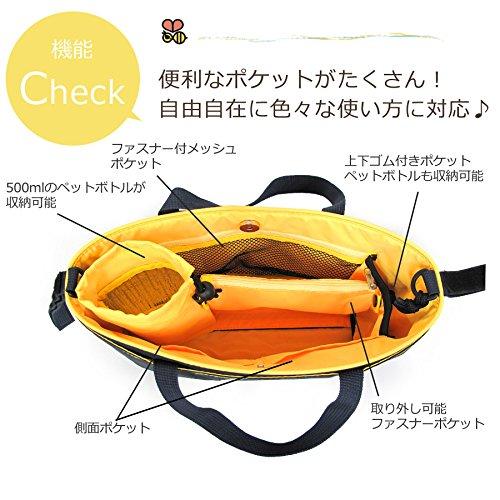 『オーガナイザー 4wayバッグ ベビーカー バギー用 自動車シート背面 ペットお散歩 ネイビー×レッド』の5枚目の画像