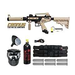 COMPLETE ALL-IN-ONE PAINTBALL GUN PACKAGE! Tippmann Cronus .68 Caliber Paintball Marker Gun Player Package. Everything You Need to Get in the Game! THE BEST CHOICE FOR ENTRY LEVEL PAINTBALLERS! High performance, low maintenance, reliability, and incr...
