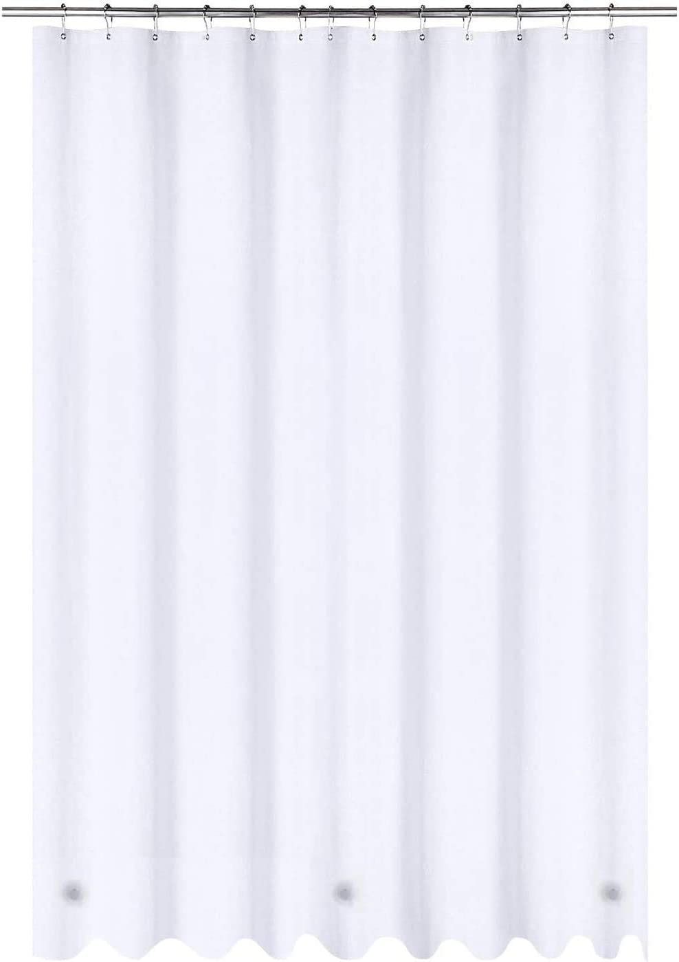 Utopia Bedding 6 Gauge PEVA Shower White Curtain Cheap mail order shopping Liner specialty shop by 72