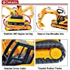 Liberty Imports Oversized Construction Excavator Truck Toy for Kids with Shovel Arm Claw #2