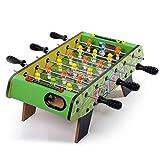 ZHSHZQ Futbolín Máquina - tamaño Mini - Diversión, portátil, futbolín Fútbol Tableros de Fútbol - recreativo Mano for Salas de Juego de fútbol