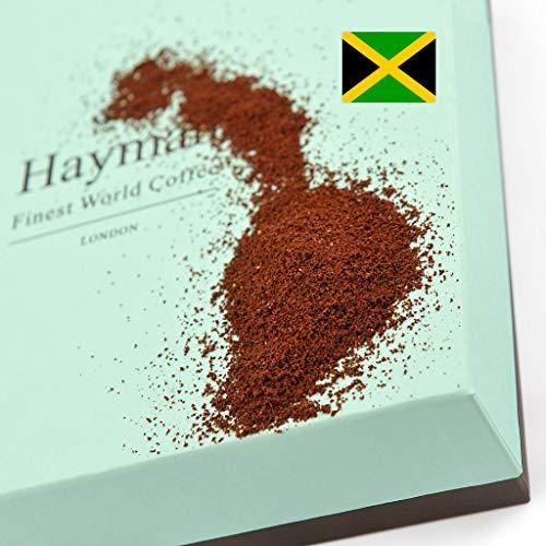100% Café Blue Mountain de la Jamaïque - Moulu - L'un des meilleurs cafés du monde, fraîchement...