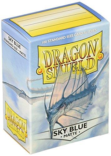 Dragon Shield Sky blue Matte, Fundas Estándar, azul cielo, 100 fundas