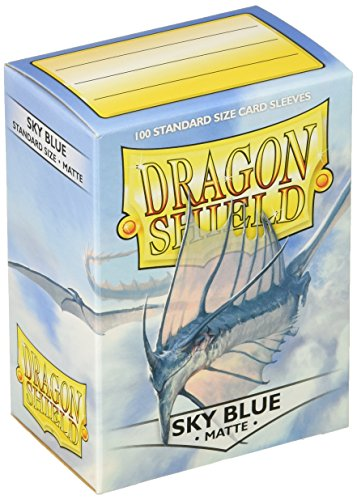 Dragon Shield 11019 Standard Sleeves Kartenhhüllen, Matte Sky Blue