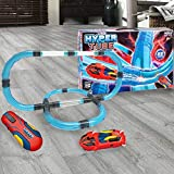 World Tech Toys Hyper Tube 65 Piece Lightning Fast Tube Racing Playset