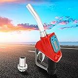 1 pollice pistola per carburante per benzina, diesel, gasolio con ugello erogatore misuratore di flusso, per fabbriche, stazioni di servizio