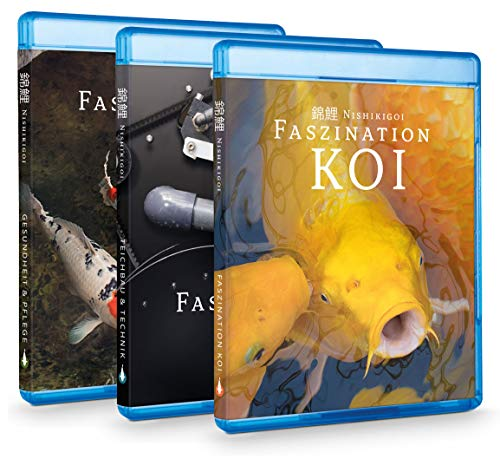 Faszination Koi | BluRay BOX (Teil 1-3) - Koi Ratgeber Film