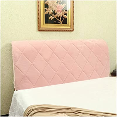 Stretch Bed Headboard Cover,Elastic Headboard Protection Cover, All-Inclusive Design Solid Color Elastic Protection,Dustproof Protector Cover for Linen Fabric Tufted Upholstered Headboard