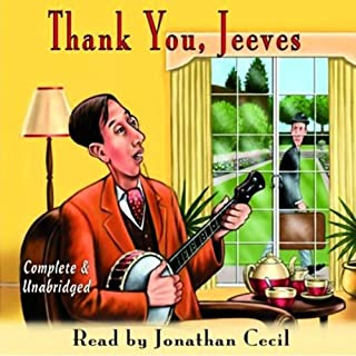 Thank You, Jeeves audiobook cover art