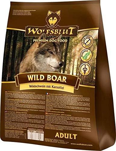 Wolfsblut | Wild Boar | 15 kg | Wildschwein | Trockenfutter | Hundefutter | Getreidefrei